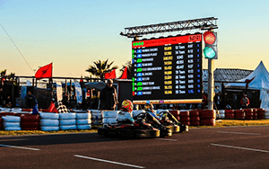 connecte periféricos, semáforos y luces de pistas de karting de alquiler con el software Apex Timing