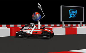video briefing - safety rules on karting tracks